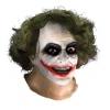 Joker Latex Mask W Hair